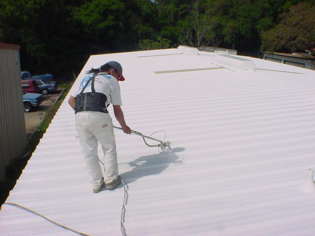 Captivating Spray Foam Roofing