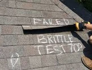 Inspection for Roof- Failed Test Richmond Virginia Roofing