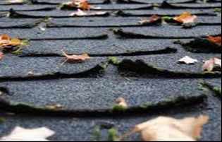 Curled Shingles- Inadequate Attic Venting Richmond Virginia Roofing