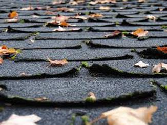 Curling Shingles- Roof Should be Replaced Richmond Virginia Roofing