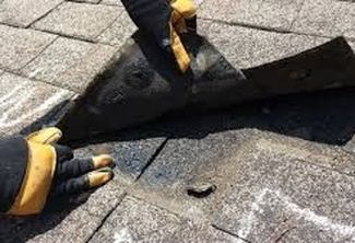Improperly Placed Nail Causing Roof Leak Richmond Virginia Roofing